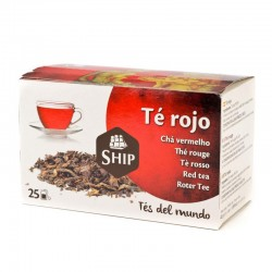 T640 - Te Rojo 25 unid.